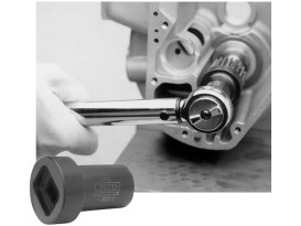 Pinion Gear Nut Socket Tool. Use on Big Twin 1955-1992.
