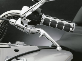 Trigger Levers - Chrome. Fits Big Twin & Sportster 1982-1995.