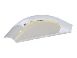 Lower Triple Tree Wind Deflector - Chrome. Fits FLH 1980-2013.
