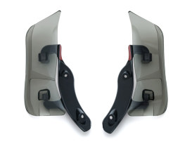 Adjustable Fairing Air Deflectors - Dark Smoked. Fits Road Glide 2015up.