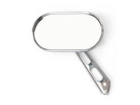 Magnum Mirrors with Small Head & Chrome Finish.