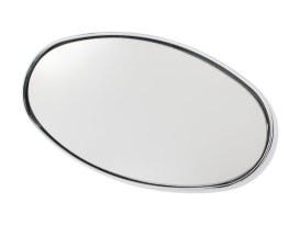 Flat Glass Mirror Head. Fits Turn Signal & Ellipse Mirrors.