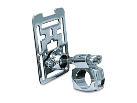 Universal Accessory Mount for 1-1/4in. Bars - Chrome.