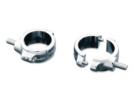 39mm Fork Turn Signal Clamps - Chrome.