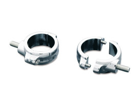 49mm Fork Turn Signal Clamps - Chrome.