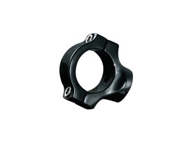 Side Mount Number Plate Clamp with Black Finish. Fits 1-1/4