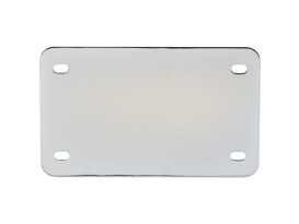 Number Plate & Turn Signal Relocation Kit with Chrome Finish.
