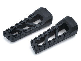 Riot Footpegs with Black Finish.