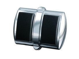 Brake Pedal Pad Cover - Chrome. Fits Metric.