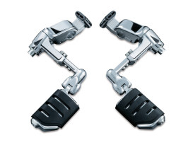 Ergo III Cruise Mounts with Trident Dually ISO-Pegs - Chrome. Fits Honda Gold Wing GL1800 2001-2017 & Honda F6B 2013-2016.
