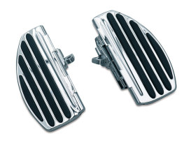 Rear ISO Floorboards with Chrome Finish.