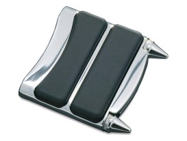 Stiletto Brake Pedal Pad - Chrome.