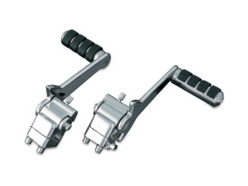 Adjustable Rear Pegs with Chrome Finish. Fits Touring Models.