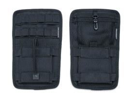 Internal Saddlebag Organizer - Black. Fits Touring with OEM Hard Saddlebags.