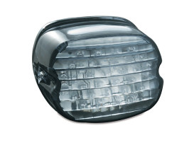 LED Low Profile Taillight with Smoke Lens & Number Plate Illumination.