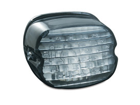 LED Low Profile Taillight with Smoke Lens & without Number Plate Window.