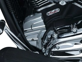 Starter End Cover - Chrome. Fits Indian 2014up.