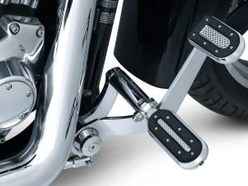 Heavy Industry Footpegs with H-D Male Mount & Chrome Finish.