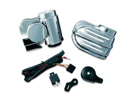 Super Deluxe Wolo Bad Boy Horn Kit - Chrome. </P><P>