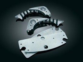 Flip Blades with Chrome Finish. Fits Traditional Floorboards.
