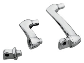 2in. Adjustable Offset Footpeg Mounts - Chrome. </P><P>