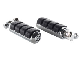 ISO Small Footpegs with Male Mount - Chrome.