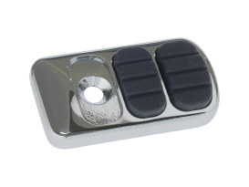 ISO Brake Pedal Pad - Chrome. Fits Touring.