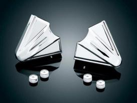 Rear Phantom Axle covers. Fits Yamaha V-Star XVS650 & 1100.