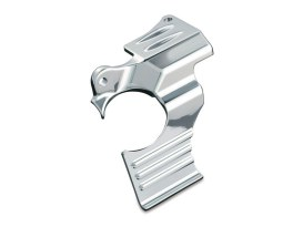 Oil Filler Spout Cover - Chrome. Fits Touring 1993-2006.