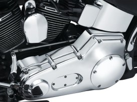 Inner Primary Cover - Chrome. Fits Softail 2000-2006.