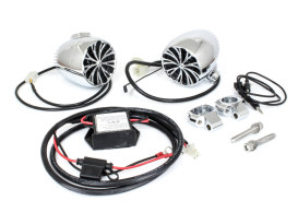 The Sound of Chrome Speaker Kit with Bluetooth. Fits 1