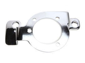 Carburettor Support Bracket - Chrome. Fits Big Twin 1984-99 with S&S Carburettor.
