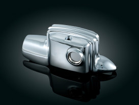 Rear Master Cylinder Cover - Chrome. Fit Touring 2008up without Fairing Lowers.