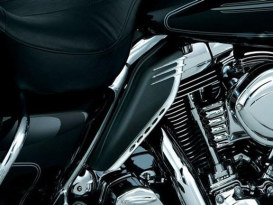 Accent - Chrome. Fits OEM H-D Mid-Frame Air Deflectors # 58002-09.