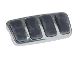 Brake Pedal Pad - Chrome. Fits Honda.