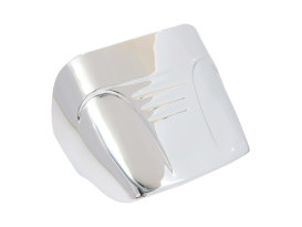 Taillight Cover without Slots - Chrome. Fits H-D 1973-2019.