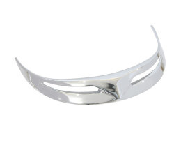 Leading Edge Front Fender Tip - Chrome. Fits Narrow Glide Front Fender.