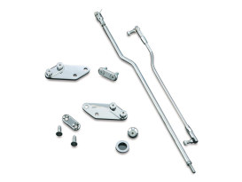 Forward Control Extension Kit - Chrome. Fits Dyna Wide Glide 1993-2002.