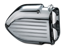 Pro-Series Hypercharger - Chrome. Fits Big Twin 1999-2006 with CV Carburettor & Twin Cam 2006-2017 with Delphi EFI & Cable Operated Throttle.