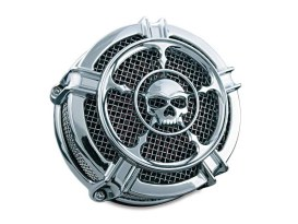 Hi-Five Mach 2 Zombie Air Cleaner Kit - Chrome. Fits Twin Cam 2008-2017 with Throttle-by-Wire.