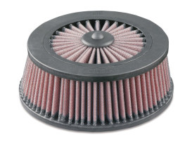 Air Filter Element. Fits Kuryakyn Mach 2, Maverick, Alley Cat, Skull & Street Sleeper Air Cleaners.