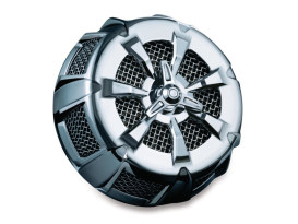 Alley Cat Air Cleaner Kit - Chrome. Fits Kawasaki VN1700, Voyager & Vaquero 2009up.