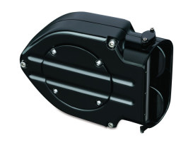 Blood Groove Hypercharger Kit - Black. Fits Big Twin 1999-2006 with CV Carburettor & Big Twin 2006up with Delphi EFI.