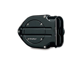 Blood Groove Hypercharger Kit - Black. Fits Sportster 1991-2006 with CV Carburettor.