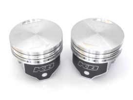 Pistons; BT'84-99 Evo STD 8.6:1 Flat Top