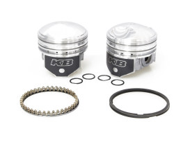 +.030in. Pistons with 8.5:1 Compression Ratio. Fits Big Twin 1941-1979 with 1200cc Engine.