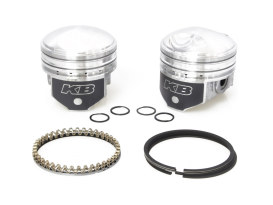+.040in. Pistons with 8.5:1 Compression Ratio. Fits Big Twin 1941-1979 with 1200cc Engine.</P><P>
