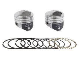 Std Pistons with 8.5:1 Compression Ratio. Fits Big Twin 1941-1979 with 1200cc Engine.</P><P>
