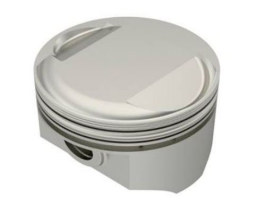 +.030in. Dome Top Pistons with 10.5:1 Compression Ratio. Fits Big Twin 1984-1999 with Evo Engine.