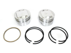 Std Dome Top Pistons with 10.5:1 Compression Ratio. Fits Twin Cam 1999-2006 with Big Bore 88ci to 95ci Conversion.